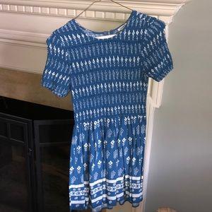 Forever 21 Short Sleeve Ribbed Dress